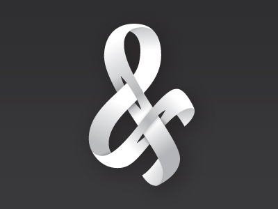 Kris & Kros friends of type lettering ampersand grayscale