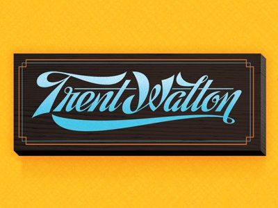8Faces cover preview friends of type lettering trent walton
