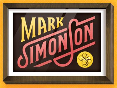 8Faces Cover Detail - Mark Simonson  friends of type lettering mark simonson