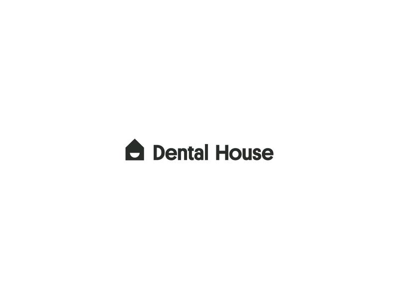 Dental House logo evan huwa smile dentist house dental