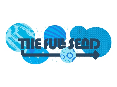 The Full Send texture pattern logo blog sendgrid