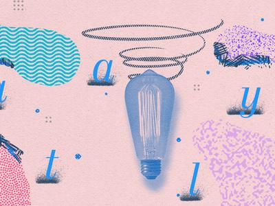 Catalyst Take 2 lightbulb title card texture sendgrid