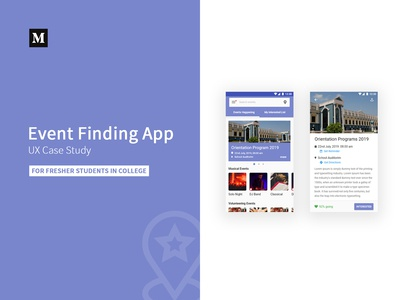 Event Finding App - UX Case Study