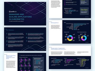 📊 Traefik Labs - Survey Report data visualization print graphic design graphs pdf charts report survey