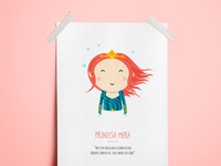 Princess Mera - Illustration