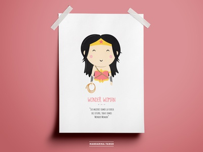 Wonder Woman Illustration
