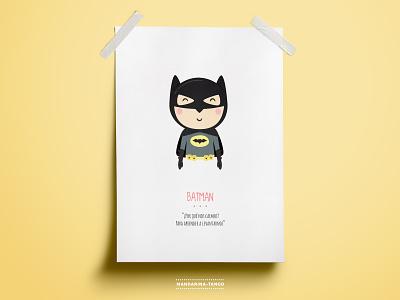 Batman illustration design printable print kids poster illustraiton character design superhero comics dc comics justice league dccomics dc el caballero oscuro the dark knight batman