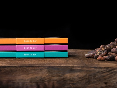 Sacred Summit Chocolate Packaging Side craft bean to bar chocolate bar chocolate packaging package color minimal design
