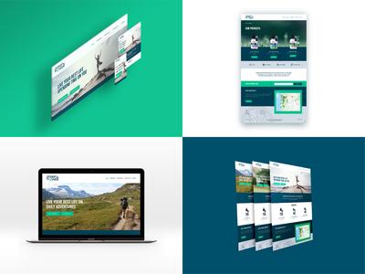 Greenwell Website Design cannabis wellness web site website web mock up web design responsive web app typography ux ui design