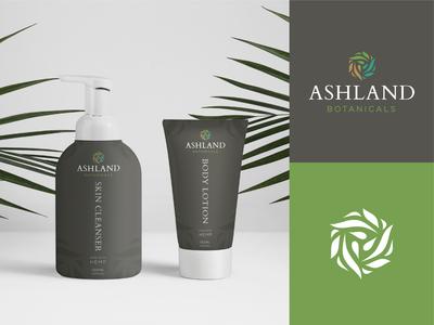 Ashland Botanical Branding & Package Design botanicals botanical ashland graphicdesign graphic packaging package mockup package design package cannabis cbd hemp minimal design