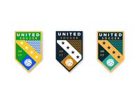Soccer Badge Logo Concepts