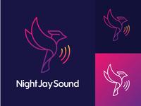 Night Jay Sound Brand Identity
