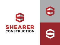 Shearer Construction Brand Identity