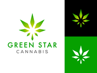 Green Star Cannabis Brand Identity