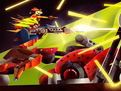 The Jak and Daxter Soundtrack (Vinyl Design) - Gatefold vinyl playstation naughy dog fangamer pop culture design vector art direction illustration graphic design