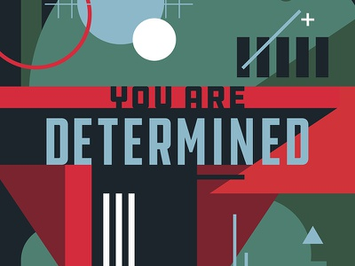 Compliments - Determined (Boba Fett) star wars typography graphic design pantone illustration collage