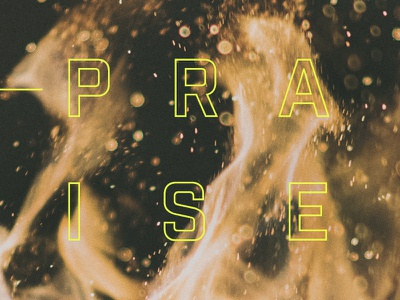 Valley Creek Young Adults - Our Praise art direction typography graphic design illustration
