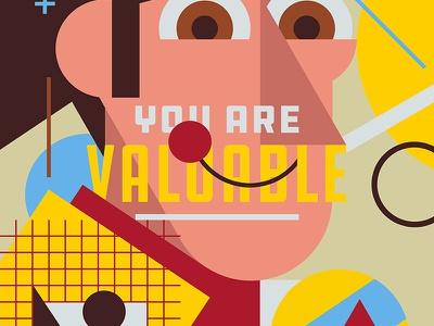 Compliments - Valuable (Sheriff Woody) toy story illustration pop culture collage pantone art direction typography graphic design