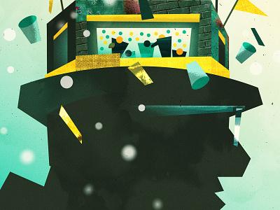 Toes Heart Mind (Book Illustration) - Fanfare gopackgo marketing agency freelance editorial artdirection advertising vector art direction illustration