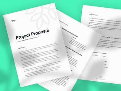 Project Proposal Template giveaway freebie file files pitch ui ux document documents freelance gig project creative creativity fixed price marketing gig freelance proposal sales project proposal