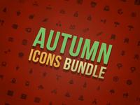 Autumn Icons Bundle