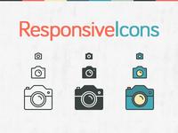 Responsive Icons