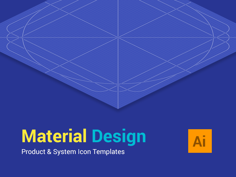 Material Design Icon Templates fribbble freebie icon guides icon template google icon system icon product icon material design