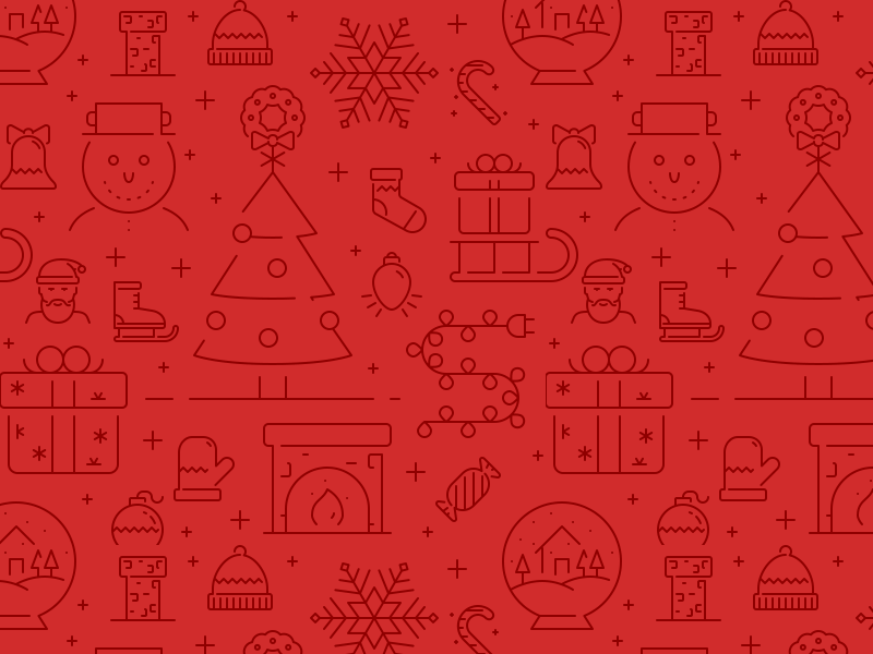 Christmas pattern full