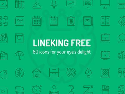 Lineking Freebie media controls social media free icons fribbble freebie open line stroke icons ios icons line icons