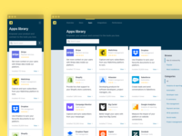 Apps library