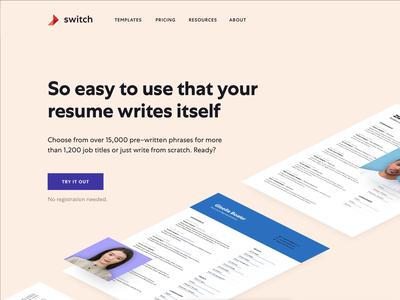Resume builder teaser