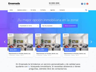 Ensenada Real Estate Theme