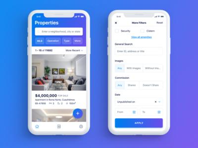 EasyBroker App - Listings