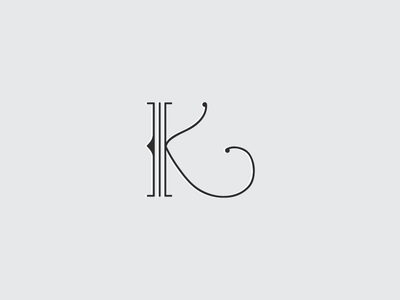 Custom Drop Cap monoline type custom type drop cap minimal modern typography