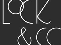 Lock + Co. Logo Concept