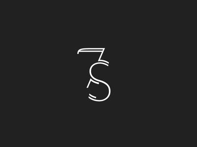 Seventh Summit Submark custom type submark type monoline typography