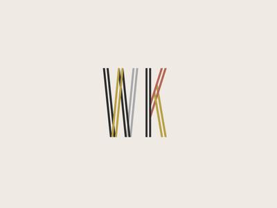 Well Known Submark custom typography modern branding custom type branding typography