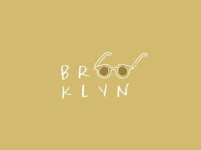 Brooklyn Bright typography illustration williamsburg new york brooklyn