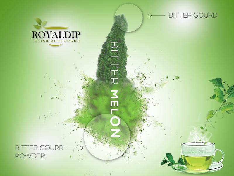 Bitter Melon Tea Poster