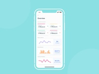 Overview's Dashboard App