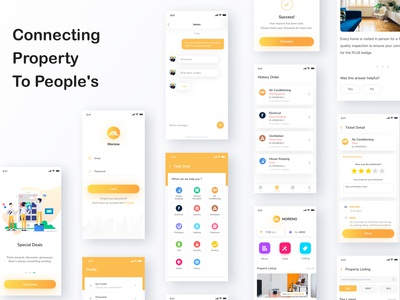 Connecting Property  To People's