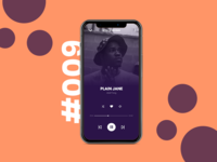 Daily UI #009 / Music Player