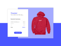 Daily UI #017 / Email Receipt