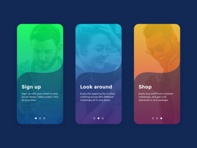 Daily UI #023 / Onboarding