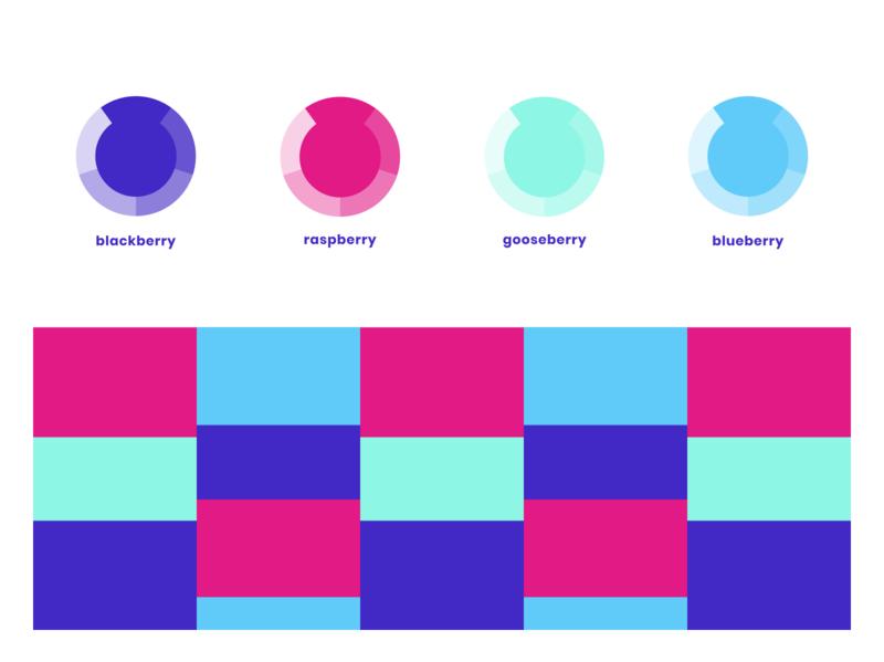 Personal branding colors color names berry identity ui vector blue illustrator ux-ui ux personal colors colors colorful branding personal branding illustration design