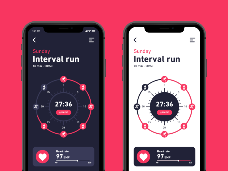Daily UI #041 / Workout Tracker tracker workout tracker workout iphone branding colors adobe xd app ux vector blue daily daily 100 challenge illustrator typography challenge ui daily ui illustration design