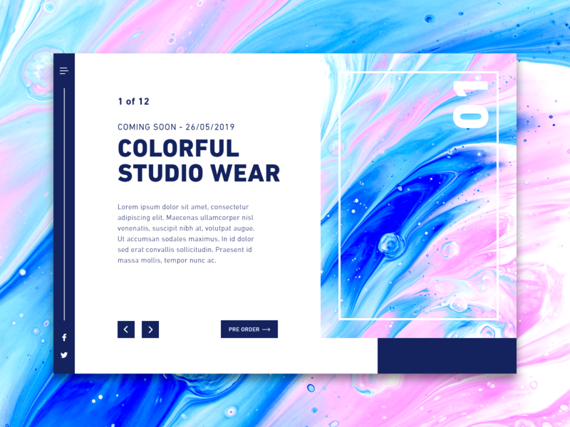 Daily UI #048 / Coming Soon web branding colors adobe xd daily colorful blue daily 100 challenge typography illustrator challenge ui illustration design ui  ux design dailyui 048 ux daily ui coming soon