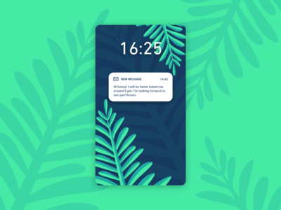 Daily UI #049 / Notifications