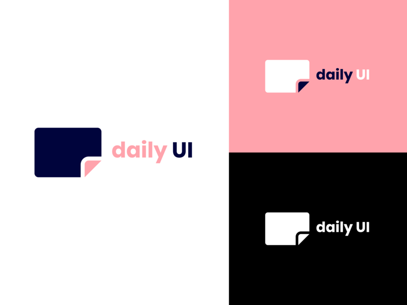 Daily UI #052 / Logo design vector colors rose blue logo text soft clean branding adobe xd ux daily typography daily 100 challenge logo illustrator challenge daily ui ui illustration design