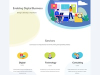 New website for an IT consultancy
